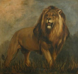 After Sir Edwin Henry Landseer 'Trafalgar Lion'